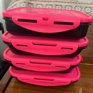 6 pack fitness Tupperware